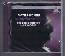 BARENBOIM CD NEW BRUCKNER SYMPHONIE 9