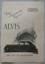 1944 Alvis Original advert No.2