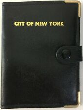 More details for nypd city of new york 90s vintage badge-id holder wallet new(badge not included)