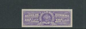 Honduras 1927 Fiscaux, Renta De Timbre 1/2 C Violette D'Occasion