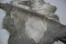 E1/A1 MULTICOLORED HAIR ON MINIATURE GOAT SKIN HIDE LEATHER