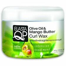 Elasta QP Olive Oil and Mango Butter Curl Wax 142g Intensive Hair Treatment