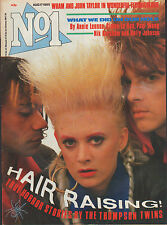 The Thompson Twins on Mag Cover 1985  John Taylor of Duran Duran  George Michael