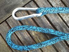 Dog Leads Rope. Handmade using traditional splicing techniques c/w caribine.