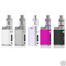 Grey 75W Starter Electronic Vapor E Pen Kit + 3 Tank MELO EC Coil TC Box