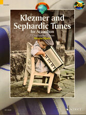 Klezmer and Sephardic Tunes for Accordion Songbook Akkordeon Noten mit CD