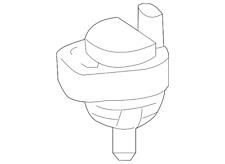 Genuine Mercedes-Benz Engine Auxiliary Water Pump 211-835-02-64