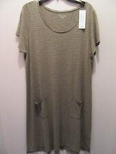 Eileen Fisher dress. hemp/organic cotton. size xl.