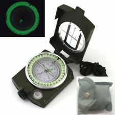2020 Portable Military Army Geology Lensatic Compass Prismatic Outdoor Camping