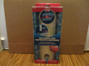 BRAND NEW AS SEEN ON TV TOUCH N BRUSH HANDS FREE TOOTHPASTE DISPENSER