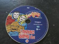 DVD Película - Super Gulp I Fantásticos 4 Y Otros N° 13 Sólo DVD No Funda