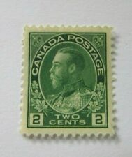 1922 Canada SC #107  KING GEORGE V  MH VF stamp