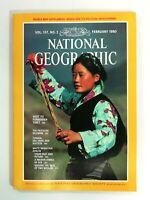 National Geographic Vol. 157, No. 2 February 1980 English + Map Supplement 105EA