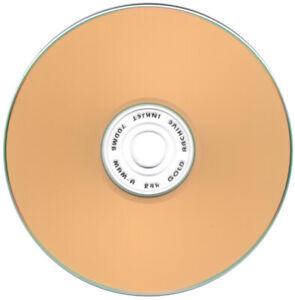 10-Pak MAM-A (Mitsui) =GOLD INKJET/GOLD= 52X 80-Min Archival CD-Rs, Mitsui 41734