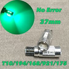 PARKING LIGHT T10 LED GREEN bulb No Canbus Error w5w 168 194 10 SMD for Toyota L