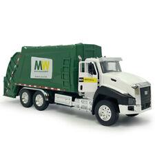 1:50 Garbage Truck Toys Model Dump Trucks Diecast Vehicle Pull Back Toy Car Gift