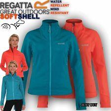 Regatta Jacket Women Morona Softshell Walking Hiking Running Outdoor Cycling Top