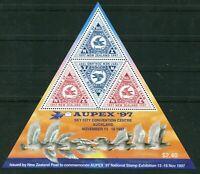 Neuseeland New Zealand Block 70 MNH postfrisch 1997 Motiv Taube AUPEX 97 Aucklan