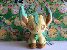 "Pokemon Plush Leafeon 6"" Ufo Prize 2013 UFO Stuffed doll figure toy Korotto"