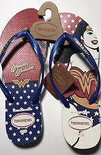 Women's Wonder Woman Havaianas Flip Flops LIMITED EDITION Size 11/12