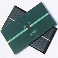 1x 6V 1W Solar Panel Module DIY For Light Battery Cell Phone Toys Chargers NEW