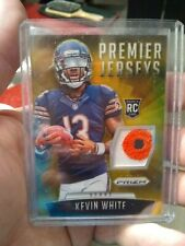 2015 Panini Prizm Premier Jerseys Kevin White Gold Refractor RC Chicago Bears
