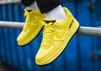 Nike Air Force 1 G-O-R-E-T-E-X Mens Trainers Waterproof Shoes Yellow All Sizes