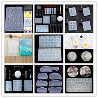 Silicone Mold Pendant Resin Epoxy DIY Rectangle Mould Casting Craft Tool AU