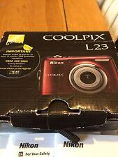 Nikon COOLPIX L23 10.1MP Digital Camera - Red