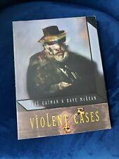 Violent Cases by Neil Gaiman & Dave McKean Paperback - good condition