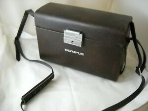 Vintage 1970's Olympus Camera Compartment Case S Japan