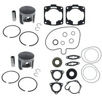 2003 Polaris SKS 800 Engine Rebuild Kit Pistons Bearings Gaskets Crank Seals Std