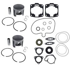 2005 Polaris Edge Touring 800 Engine Rebuild Pistons Bearings Gasket Crank Seals
