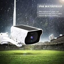 Outdoor Solar Wireless WiFi 1080P HD Security CCTV Camera Waterproof Night Visio