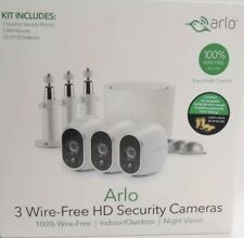 BrandNew Sealed Arlo VMS3330W Security Camera System Wire-Free HD/Night Vision