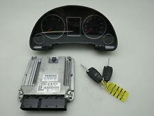 Tacho MSG Motorsteuergerät Schlüssel WFS  2.0 Tdi BLB Schaltgetriebe Audi A4 B7