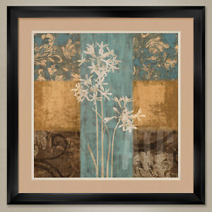 """35W""""x35H"""": HERITAGE II by CHRIS DONOVAN - DOUBLE MATTE, GLASS and FRAME"""