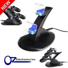 USB Dual Charger Dock Charging Stand cable for Sony PS4 playstation Controller