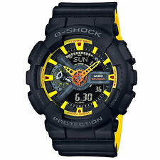 Casio G-SHOCK BLACK×YELLOW GA-110BY-1AJF / AIRMAIL with TRACKING