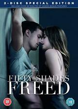 Fifty Shades Freed DVD Bonus Disc Digital Download 50 Grey Film Movie