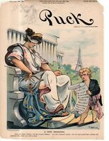 1899 Puck cover - Dreyfus is vindicated, but his persecutors need to be punished