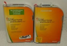 *2* Microsoft Office Home and Student 2007 GENUINE retail 3 USER LICENSE