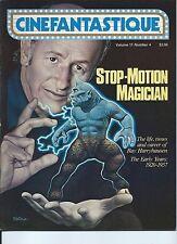 CINEFANTASTIQUE MAGAZINE STOP MOTION MAGICIAN VOL. 11 NO. 4 FROM 1981