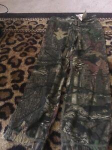 Mossy Oak BreakUp Infinity Girl's Athletic Pants z S 6-6X Multicolor Bottoms
