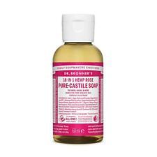 Dr. Bronner Organic Rose Pure-Castile Liquid Soap 60ml