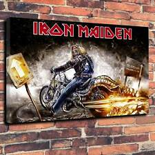 "Iron Maiden Eddie From Here to Eternity Printed Canvas A1.30""x20"" 30mm Frame"