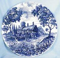 Shakespeares Country Dinner Plate Royal Essex Ironstone Hathaway Cottage G As Is