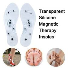 Men and Women Fashion Magnetic Therapy Insole Silicone Weight Loss Insoles HQ