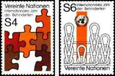 Timbres Nations Unies Vienne 17/8 ** lot 5236