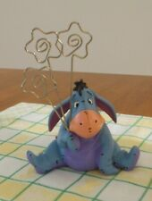 Eeyore Disney Pooh and Friends Figurine  Picture/Card Holder